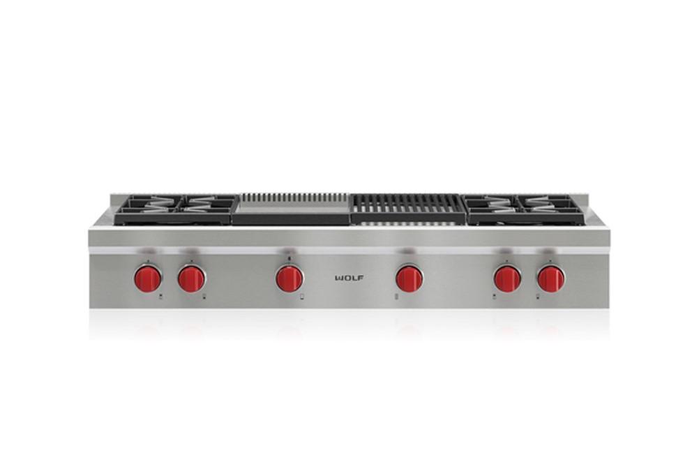 """כיריים Rangetop ארבע להבות דגם ICBSRT484CG רוחב: 120 ס""""מ"""