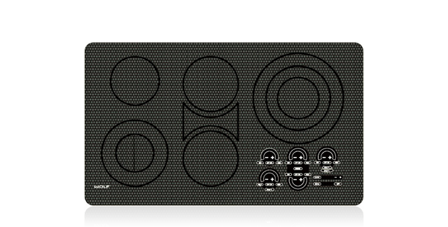 """כיריים חשמליות 5 מוקדי בישול דגם ICBCT36EU רוחב:91 ס""""מ"""