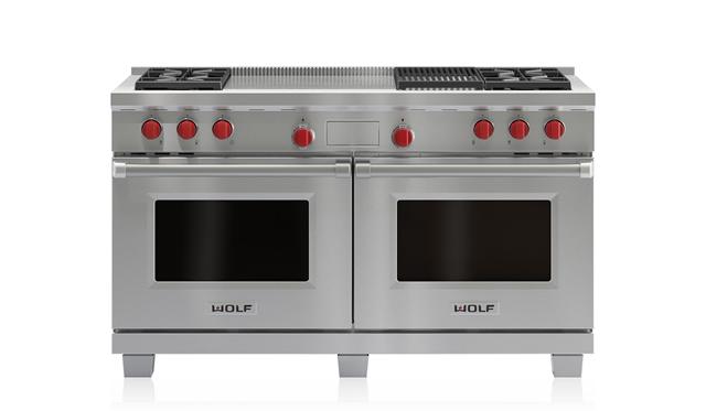 """תנור בישול ואפייה פירוליטי משולב גז וחשמל דגם ICBDF604CF רוחב: 152 ס""""מ"""